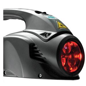 Аппликатор стремя излучателями MLS лазерных импульсов.